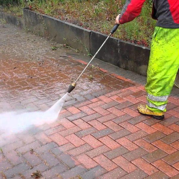 Pressure Washing Paved Driveways