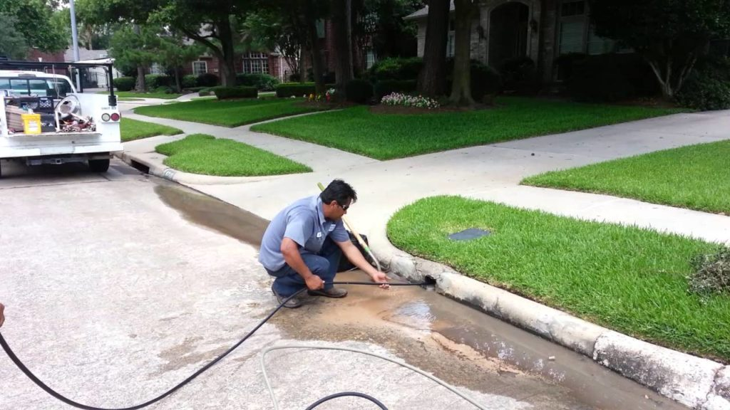 Rainwater Drainage Cleaning