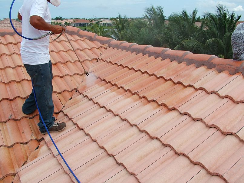 Is Using Chemicals Necessary When Cleaning a Roof?